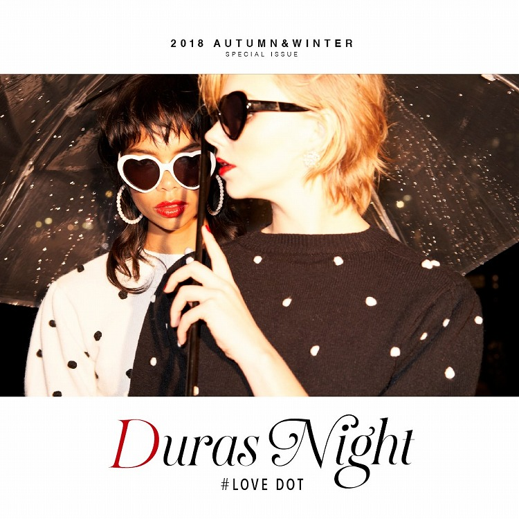 企画バナー DURAS NIGHT #DOT
